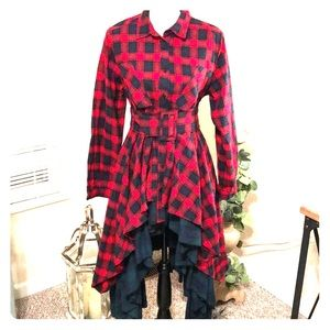 Boutique flannel Top
